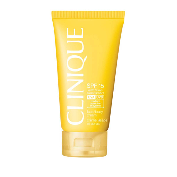 CLINIQUE SUN FACE/BODY CREAM CREMA PROTETTIVA SOLAR PROTECTION FACTOR 15 150 ml
