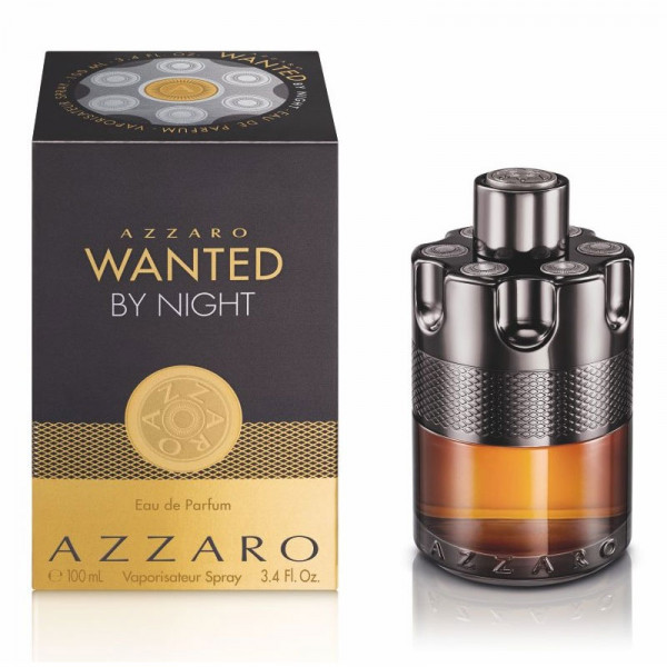 AZZARO WANTED BY NIGHT EAU DE PARFUM 100 ml