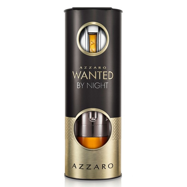 AZZARO WANTED BY NIGHT SET XM AFTER SHAVE EAU DE PARFUM 100 ml, TRAVEL 15 ml