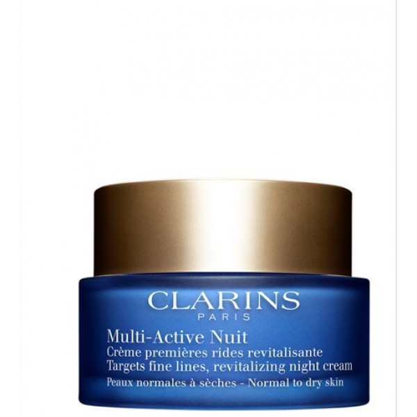 CLARINS MULTI-ACTIVE NUIT CREME CONFORT PN, SL 50 ml