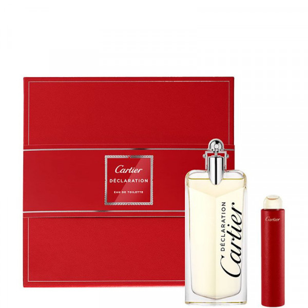 CARTIER DECLARATION SET EAU DE TOILETTE 100 ml, 15 ml