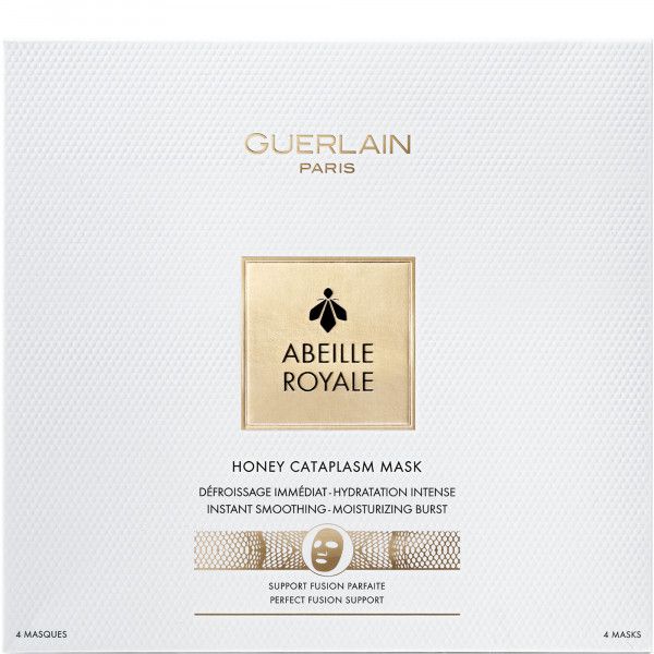 ABEILLE ROYALE HONEY CATAPLASM MASK X 4