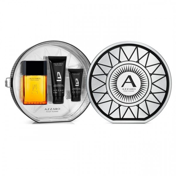 AZZARO HOMME SET XM EAU DE TOILETTE 100 ml, SHOWER GEL 100 ml, AFTER SHAVE BALM 50 ml