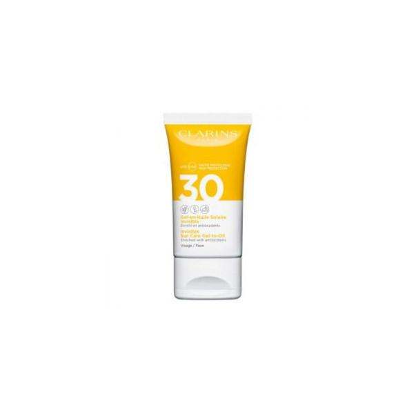 CLARINS VISO GEL-EN-HUILE SOLAR PROTECTION FACTOR 30 50 ml