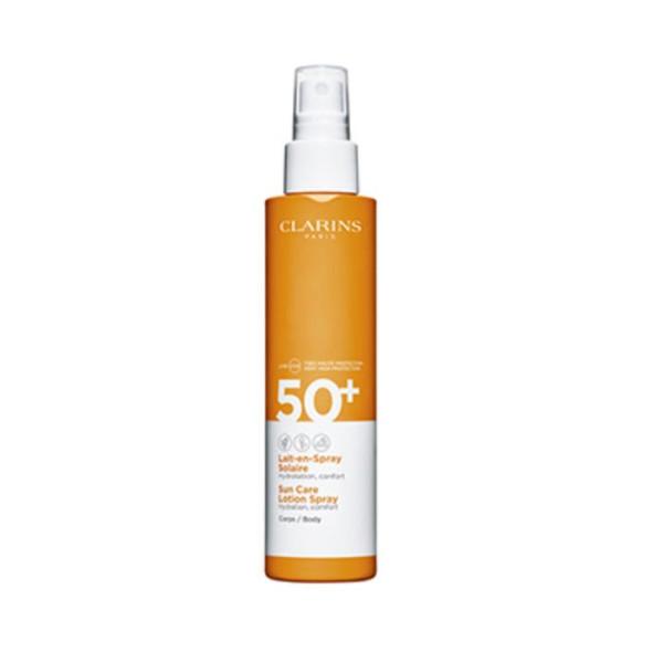 CLARINS CORPO LAIT-EN-SPRAY SOLAR PROTECTION FACTOR 50 ml, 150 ml