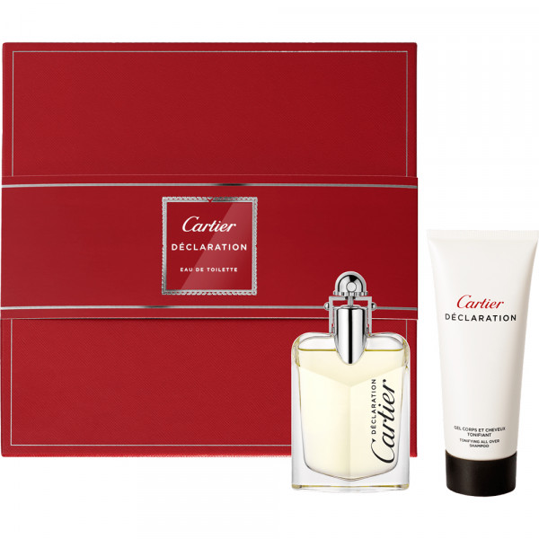 CARTIER DECLARATION EAU DE TOILETTE 50 ml, SHOWER GEL 100 ml