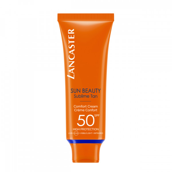 LANCASTER BEAUTY COMFORT TOUCH CREAM SOLAR PROTECTION FACTOR 50 50 ml