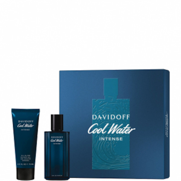 COOL WATER INTENSE SET EAU DE TOILETTE 75 ml, SHOWER GEL 75 ml