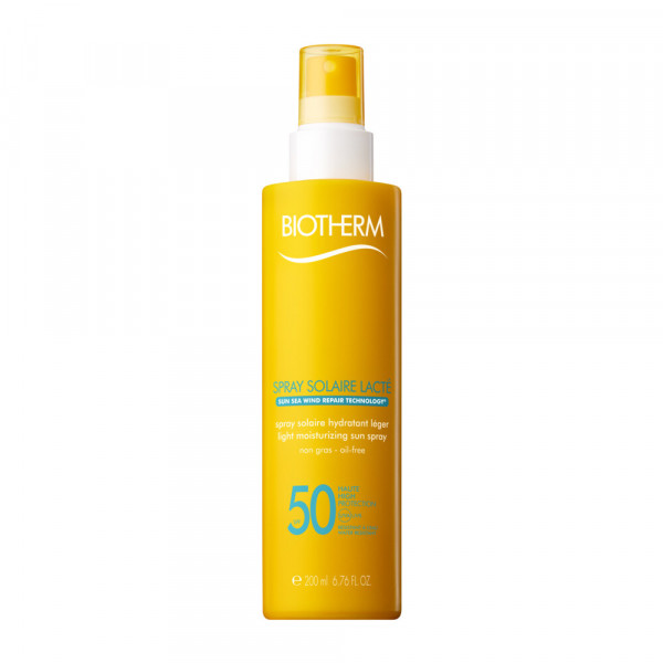 BIOTHERM SUN LATTE SPRAY SOLAR PROTECTION FACTOR 50 200 ml