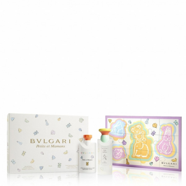 BULGARI PETIT MAMAN SET EAU DE TOILETTE 100 ml, BODY LOTION 75 ml, PUZZLE
