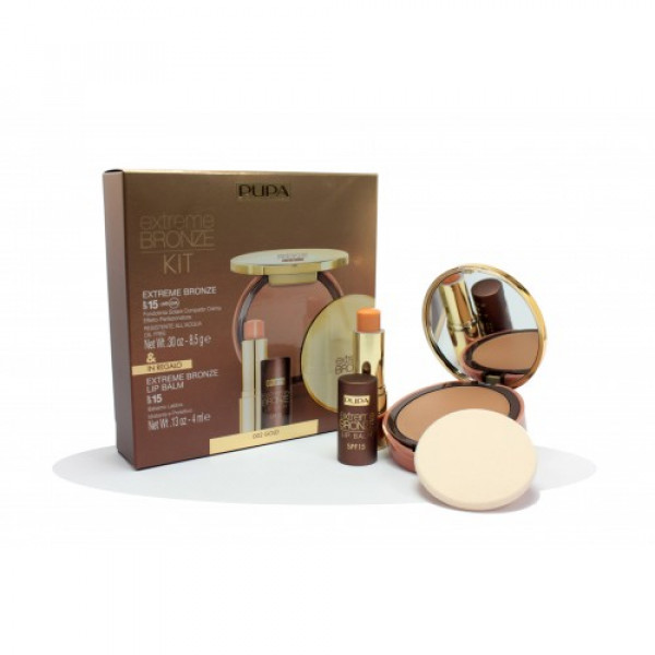 KIT FONDOTINTA SOLARE EXTREME BRONZE 02, BALM SOLAR PROTECTION FACTOR 15