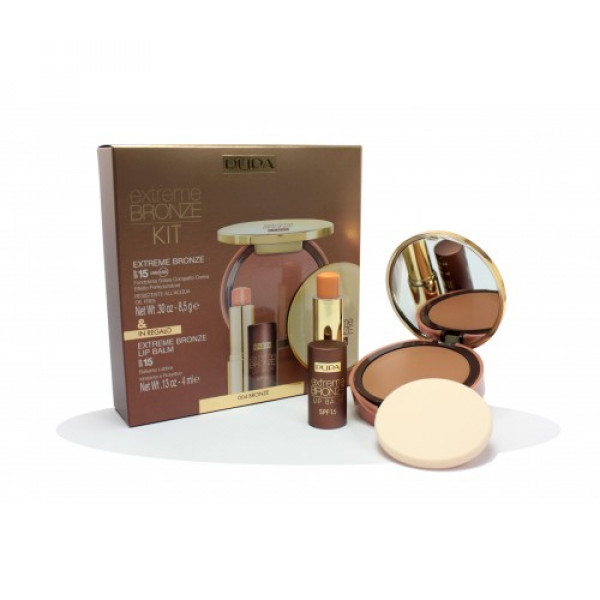 KIT FONDOTINTA SOLARE EXTREME BRONZE 04, BALM SOLAR PROTECTION FACTOR 15