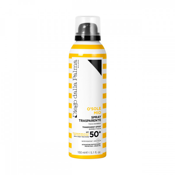 SUN O SOLEMIO SPRAY TRASPARENTE SOLAR PROTECTION FACTOR 50 150 ml