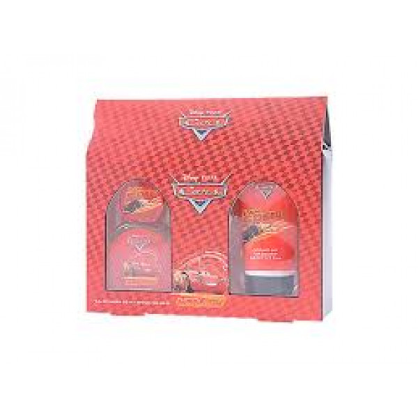 CARS SET EAU DE TOILETTE 50 ml, SHOWER GEL