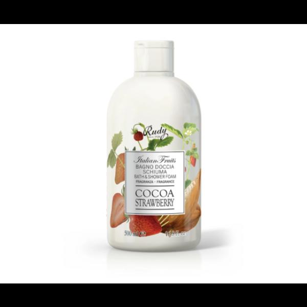 ITALIAN FRUITS BAGNO DOCCIA 500 ml COCOA  STRAWBERRY